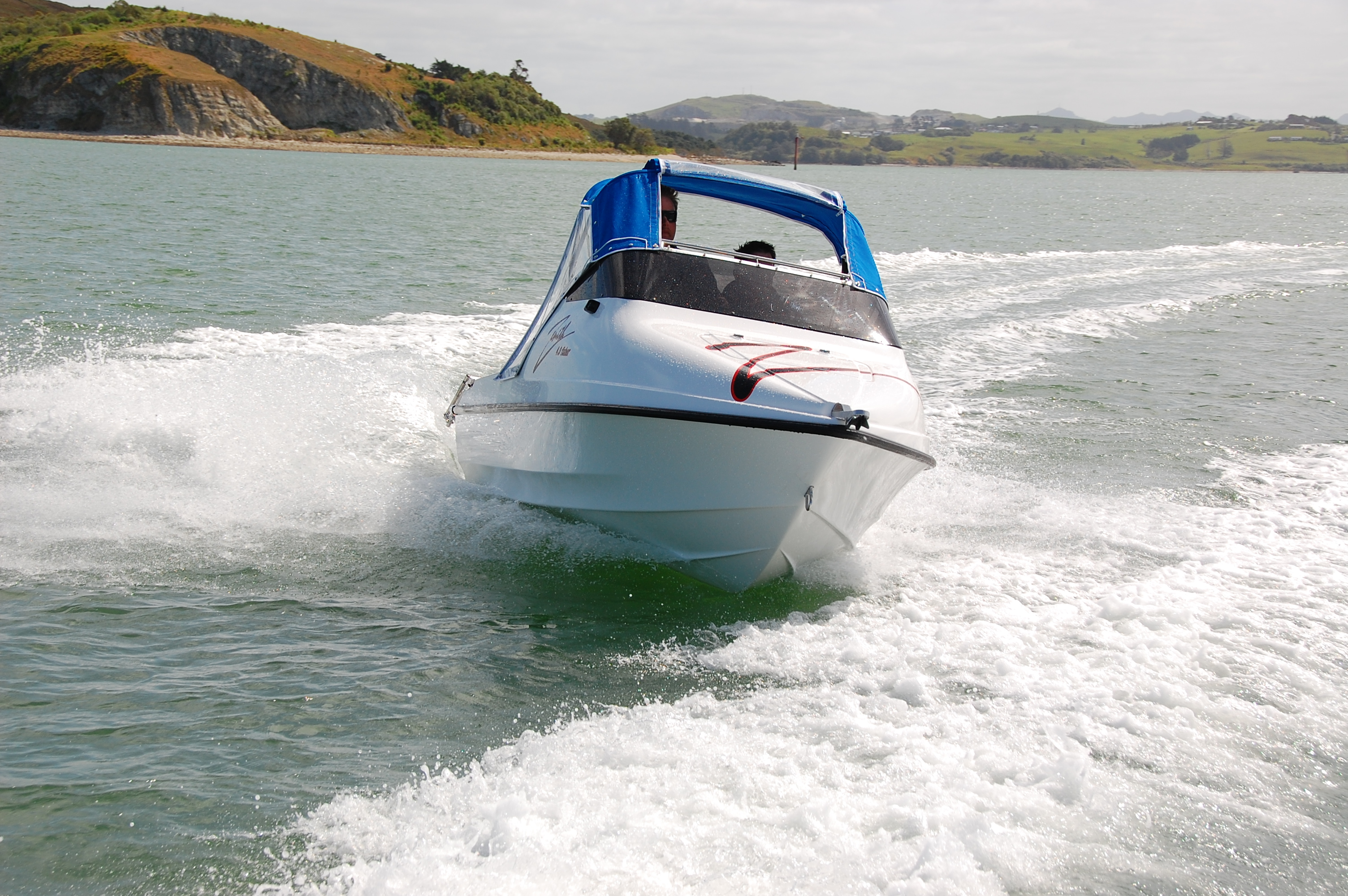 NZ Boats Zenith 4.1 Fisher