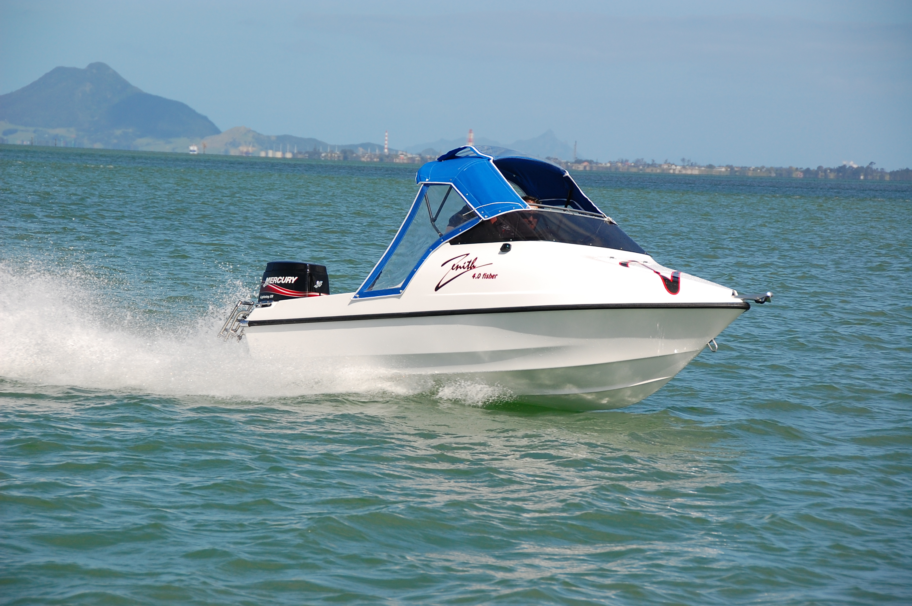 NZ Boats Zenith 4.1 Fisher